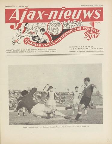 Clubnieuws Ajax (vanaf 1916) 1959-06-01