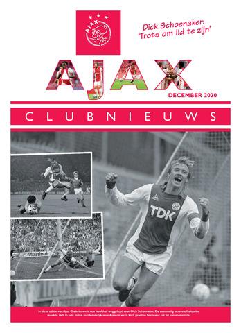 Clubnieuws Ajax (vanaf 1916) 2020-12-01