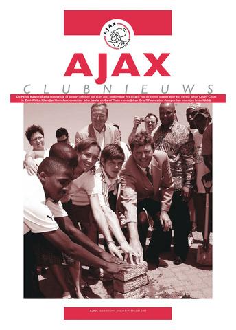Clubnieuws Ajax (vanaf 1916) 2007-01-01