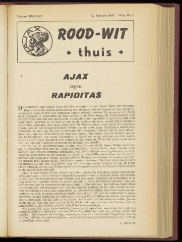 Programmaboekjes (vanaf 1934) 1961-02-12
