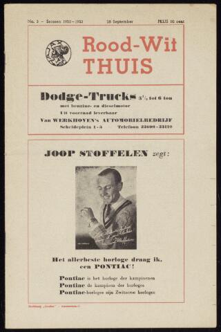Programmaboekjes (vanaf 1934) 1952-09-28