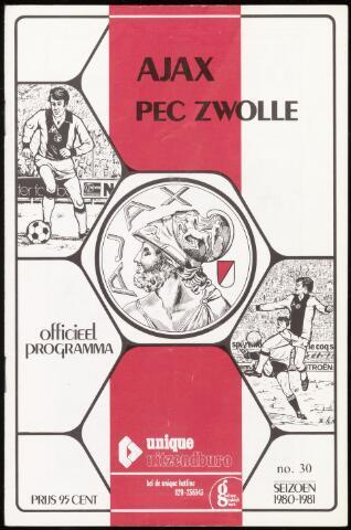 Programmaboekjes (vanaf 1934) 1981-04-18