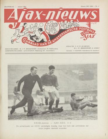 Clubnieuws Ajax (vanaf 1916) 1964-01-01