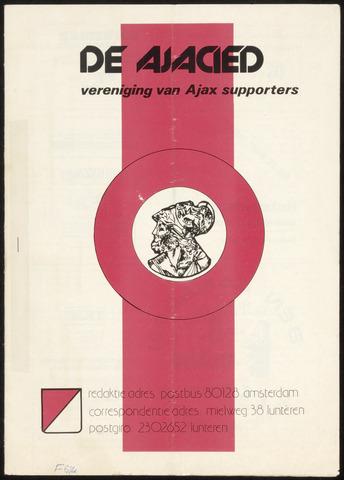 Clubblad De Ajacied (1997-2009) 1977