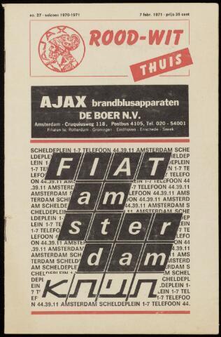 Programmaboekjes (vanaf 1934) 1971-02-07