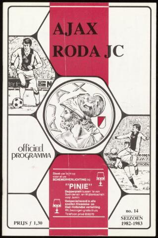 Programmaboekjes (vanaf 1934) 1983-02-23