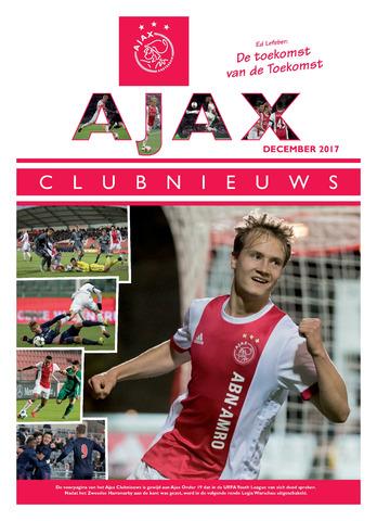 Clubnieuws Ajax (vanaf 1916) 2017-12-01