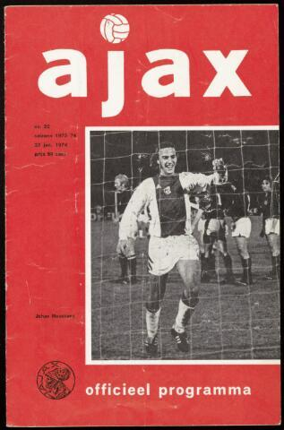 Programmaboekjes (vanaf 1934) 1974-01-27
