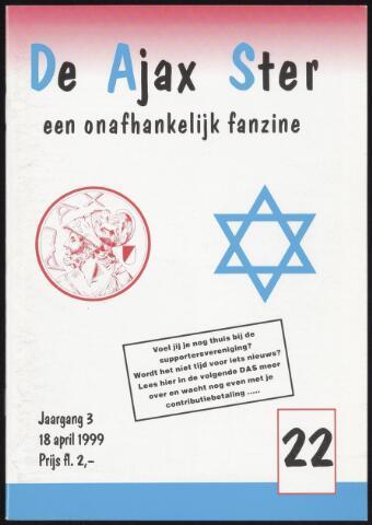 Fanzine De Ajax Ster (1996-2001) 1999-04-18