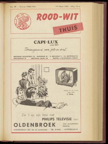 Programmaboekjes (vanaf 1934) 1961-03-19