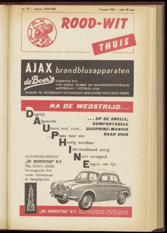 Programmaboekjes (vanaf 1934) 1965-03-07