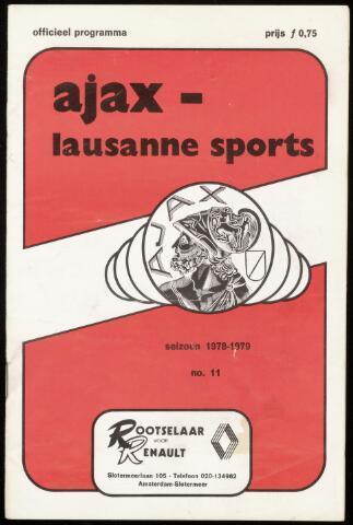 Programmaboekjes (vanaf 1934) 1978-10-18