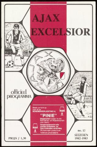 Programmaboekjes (vanaf 1934) 1983-02-20