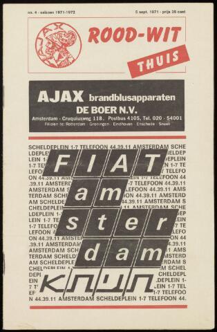 Programmaboekjes (vanaf 1934) 1971-09-05