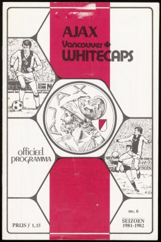 Programmaboekjes (vanaf 1934) 1981-10-13