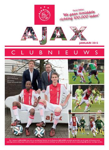 Clubnieuws Ajax (vanaf 1916) 2015-01-01