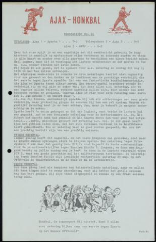 Honkbal nieuws (1963-1972) 1964-08-17