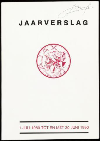 Jaarverslagen Vereniging (vanaf 1964) 1990-06-30