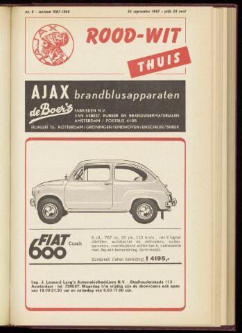 Programmaboekjes (vanaf 1934) 1967-09-24