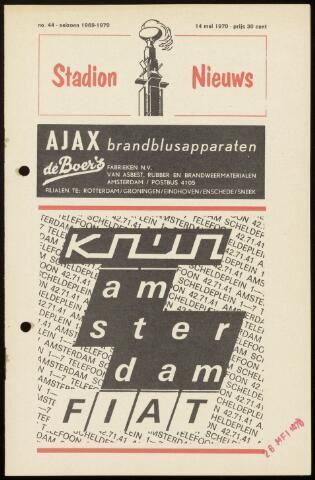 Programmaboekjes (vanaf 1934) 1970-05-14
