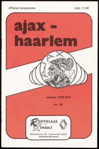 Programmaboekjes (vanaf 1934) 1979-04-14