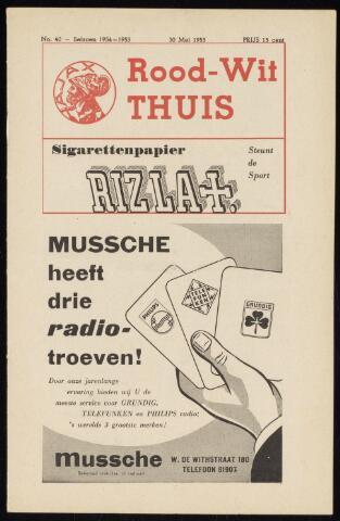 Programmaboekjes (vanaf 1934) 1955-05-30