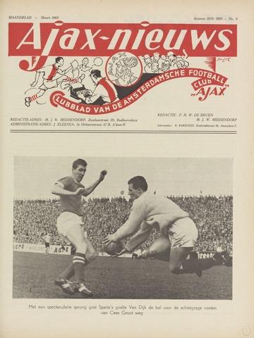Clubnieuws Ajax (vanaf 1916) 1960-03-01