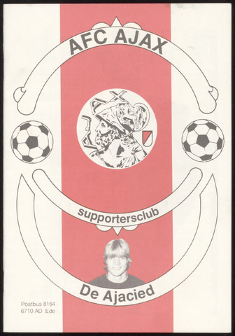 Clubblad De Ajacied (1997-2009) 1982-08-01