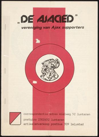 Clubblad De Ajacied (1997-2009) 1979-07-03