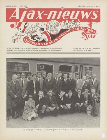 Clubnieuws Ajax (vanaf 1916) 1965-07-01