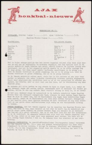 Honkbal nieuws (1963-1972) 1967-07-10