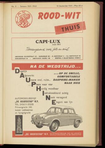 Programmaboekjes (vanaf 1934) 1961-09-10