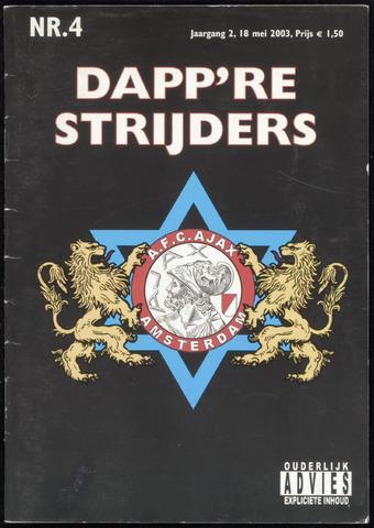 Fanzine Dapp're Strijders (2003-2005) 2003-05-18
