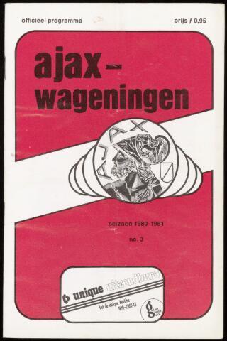 Programmaboekjes (vanaf 1934) 1980-08-30