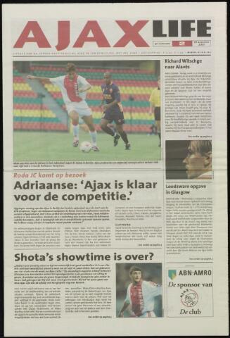 Ajax Life (vanaf 1994) 2001-08-16