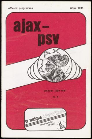 Programmaboekjes (vanaf 1934) 1980-09-14