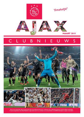 Clubnieuws Ajax (vanaf 1916) 2019-03-01