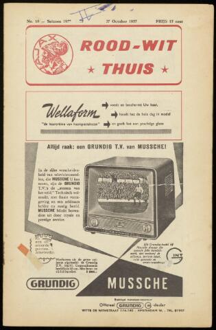 Programmaboekjes (vanaf 1934) 1957-10-27