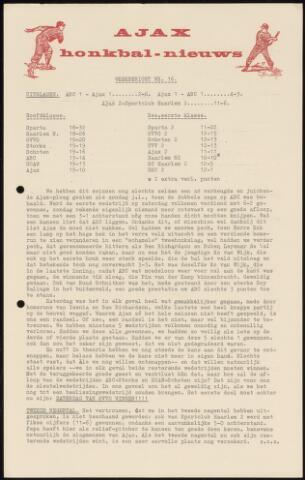 Honkbal nieuws (1963-1972) 1967-07-31