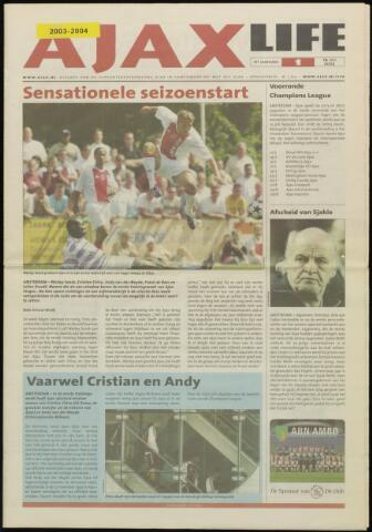 Ajax Life (vanaf 1994) 2003-07-19