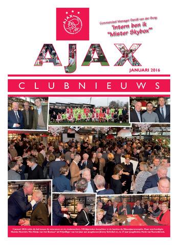 Clubnieuws Ajax (vanaf 1916) 2016-01-01