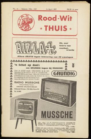 Programmaboekjes (vanaf 1934) 1957-04-14