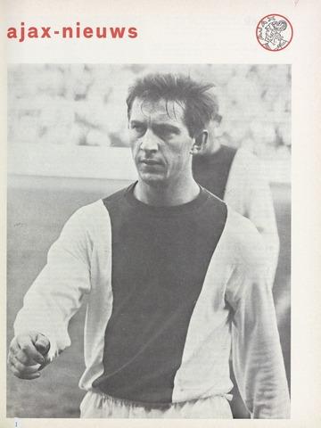 Clubnieuws Ajax (vanaf 1916) 1970-12-01
