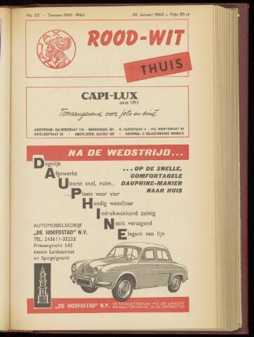 Programmaboekjes (vanaf 1934) 1962-01-28