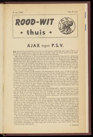Programmaboekjes (vanaf 1934) 1960-06-15