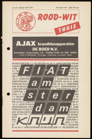 Programmaboekjes (vanaf 1934) 1971-03-28