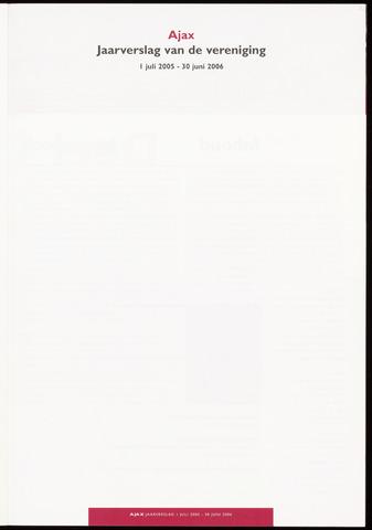 Jaarverslagen Vereniging (vanaf 1964) 2006-06-30