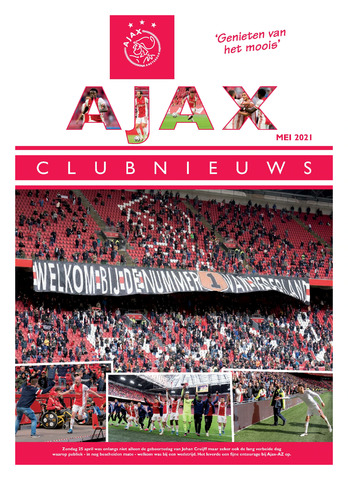 Clubnieuws Ajax (vanaf 1916) 2021-05-01