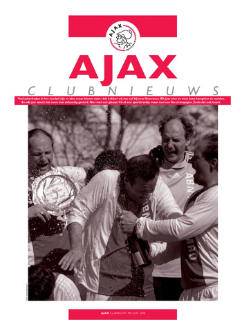 Clubnieuws Ajax (vanaf 1916) 2008-05-01