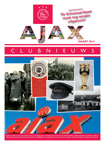 Clubnieuws Ajax (vanaf 1916) 2014-03-01